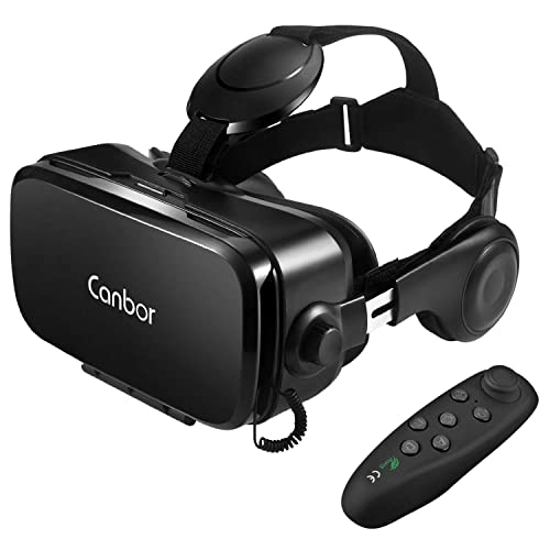 973e762be4e Canbor VR Headset with Remote Controller