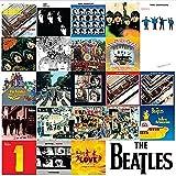 El Beatles Cronología de los álbumes de la pared del metal firmar acero estaño barra de la placa...