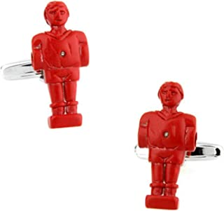 Aooaz Cuff Links Studs Doll Cuff Links Vintage Red