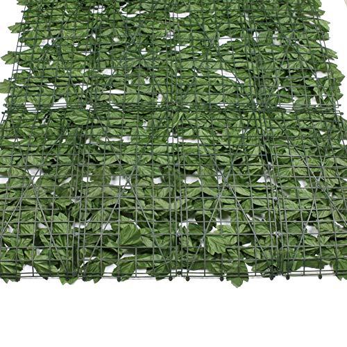 Cerca verde de la simulación, cerca verde artificial, mejor decoración de la pared del supermercado de la alameda de compras del hotel,1×3m