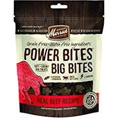 #1 Ingredient Is Real Deboned Beef Bigger Bite Sizes For Large Breed Dogs Big Bites Are Grain-Free And Gluten-Free, Without Sorbic Acid Recipe Includes Glucosamine For Hip And Joint Health, As Well As Omega 3 And Omega 6 Fatty Acids That Support Heal...