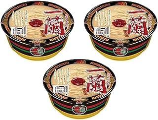 【まとめ買い 3個セット 】 一蘭 とんこつ カップ麺 カップラーメン 秘伝のたれ付