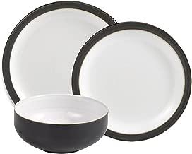 Denby 12-Piece Dinnerware Set, Jet Black