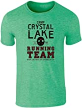 Pop Threads Camp Crystal Lake Running Team Horror Costume Graphic Tee T-Shirt for Men