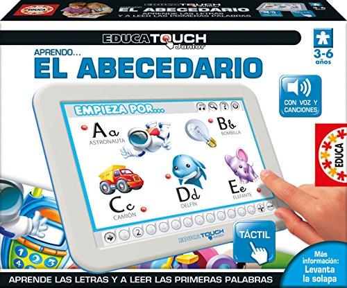 Educa - Touch Junior Aprendo el Abecedario Juego Educativo para Niños, Multicolor (15435)