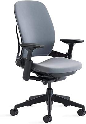 Steelcase Leap Office Chair, Hard Floor, Cogent/Graphite