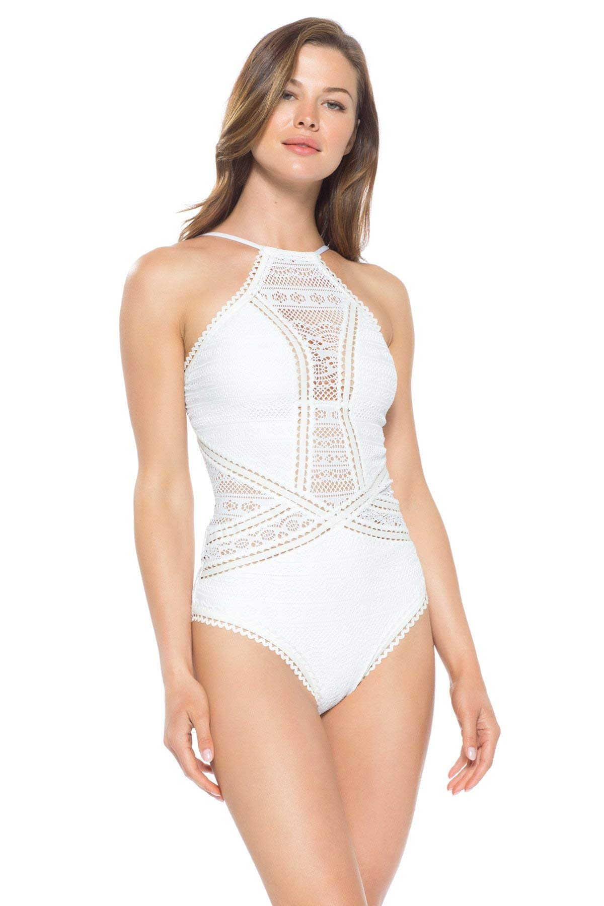 Becca Rebecca Virtue Rickrack Swimsuit