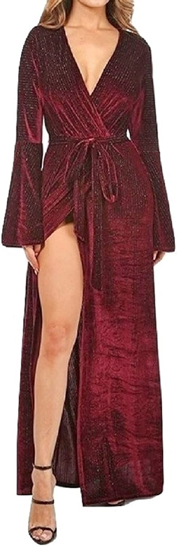 L'Diva Couture Boutique Women's Maxi Dress, Velvet Maxi Dress, Crushed Velvet Dress
