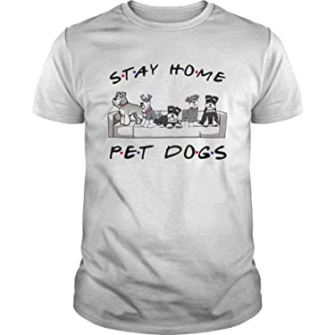 Kanoso Friends Stay Home Pet Dogs undefined Shirt Black