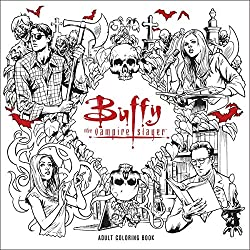 Title Buffy The Vampire Slayer Adult Coloring Book Author Fox Release Date January 17 2017 Page Count 96 Pages Available At Amazon
