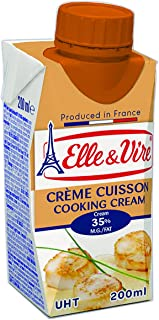 Elle & Vire - Uht Cooking Cream 35,1% Fat , Healthy & Packed With Rich Nutritious , High In Vitamin A Vitamin B2 , Appetiz...