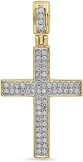 Best 10k gold and diamond pendant Reviews