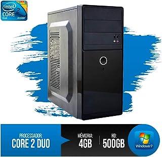 PC Intel Core 2 Duo, 4GB RAM DDR3, HD 500GB, Melhor Preço c/NF Inclusa!!