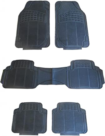 WLW Universal Fit Styling MPV/SUV Mats Front & Rear Floor Covering Includes XtremeAuto Sticker