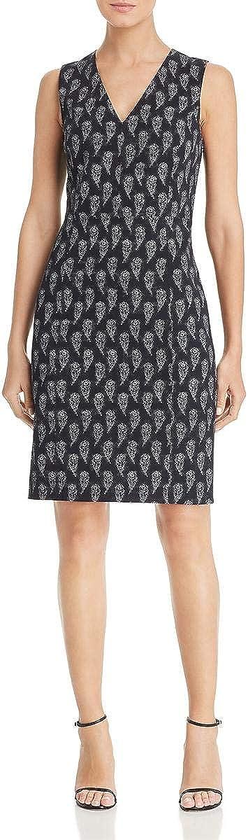 Le Gali Womens Marielle Floral V-Neck Cocktail Dress