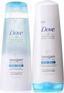 Dove Oxygen Moisture 2pcs Hair Care Set Moisturing Shampoo-355ml Plus Moisturing Conditioner-355ml