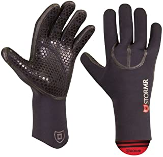 Stormr Typhoon Women and Men's Durable Yet Comfortable Fishing Glove with High Stretch Premium Micro-fleece Lined 3MM Neoprene: Best Used for Ice Fishing, Winter Conditions, and Foul Weather
