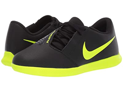 Nike Kids Jr. Phantom Venom Club IC (Toddler/Little Kid/Big Kid) (Black/Volt) Kids Shoes