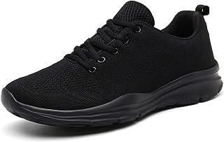 DAFENP Chaussures de Course Running Sport Compétition Trail entraînement Homme Femme Basket Sneakers Outdoor Running Sport...