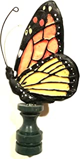 GiftCo Polystone Butterfly Lamp Top Ornament