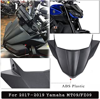 MT09 FZ09 Accessories Motorcycle Fly Screen Protector Fairing Fender Beak Nose Cone Extension Cover Cowl for Yamaha MT FZ 09 MT-09 FZ-09 2017 2018 2019
