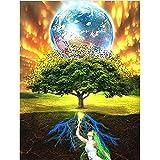 Yingxin34 Puzzle 3000 Piezas Adultos Rompecabezas Madera árbol de la Vida Infantiles Adolescentes