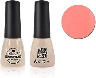 Elite99 Soak-Off UV LED Gel Polish Nail Art New Bling Colours Manicure Lacquer 7ml Light Salmon 515