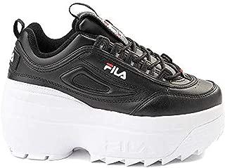 Fila Women's Disruptor Ii Wedge Shoes & Wiping Towel Bundle