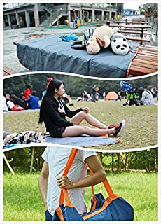 Multifunction Outdoor Travel Bag,Multi-Purpose Blanket for Beach,Parks,Picnics,Hiking.Waterproof and Sand Proof .(Black)