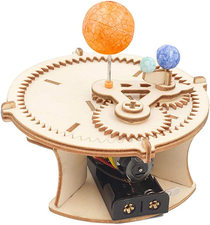 DPDSCVY STEM Educational Toys Kit, DIY Science Kits for Kids Ages 6+, Many Styles Set for Boys Girls (Sun Earth Moon): Toys & Games