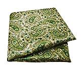 PEEGLI Indische Jahrgang Saree Paisley Design Lässig Aus