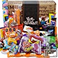 HALLOWEEN CANDY CARE PACKAGE LOADED GIFT ASSORTMENT Filled With Milk Chocolate Skulls, Eyeballs, Pumpkins, Seasonal Foil Candies, Candy Corn + More! PERFECT For Girls Boys Kids College Students Adults