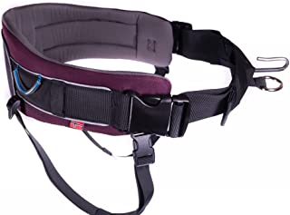 Non-stop dogwear Trekking Belt, Adjustable, Size M, Purple, for Active Dog Owners, 1 Pack