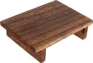 POHOVE Marchepied en bois robuste pour enfants 9,8 x 7 x 2,8 cm - Marchepied en bois pour adultes et enfants
