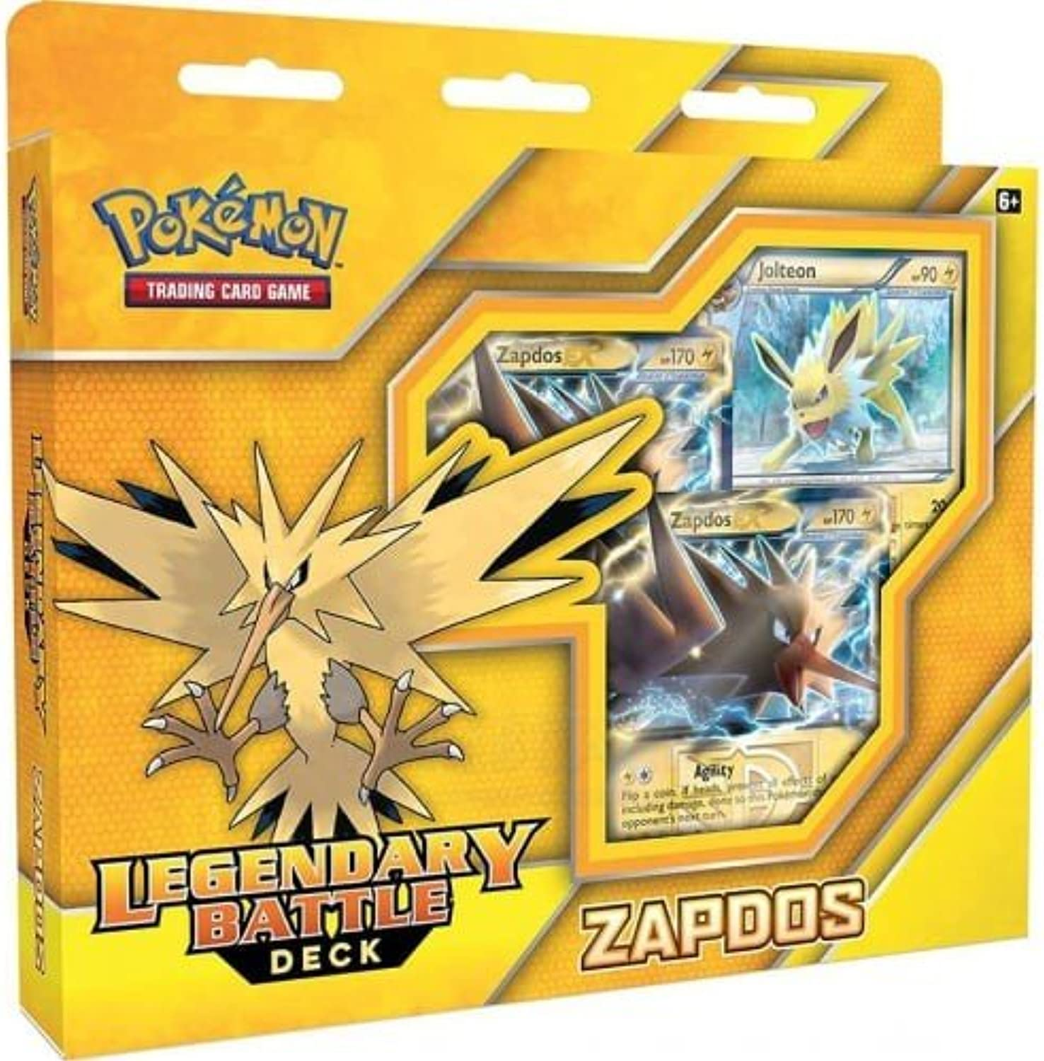 Pokémon TCG  Legendary Battle Decks  Zapdos  60 Card Deck  English