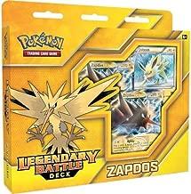 Pokemon TCG: Zapdos Legendary Battle Deck   Full Ready to Play Deck of 60 Cards   Includes  Deck Exclusive Team Plasma Rainbow Holofoil Metallic Coin & Plasma Storm Magnezone