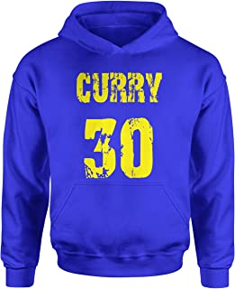 Expression Tees Youth Hood Curry #30 Medium Royal Blue