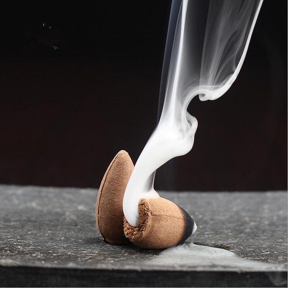 ストレッチ数学的な厄介な逆流startdy自然煙PagodaインドアIncense円錐Bulletアロマセラピーのヨガ瞑想45pc /ボックス