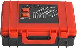 Kudoo Capa de bateria para câmera, caixa de bateria de câmera, plástico leve para fotógrafo, cartão de memória, uso de bat...