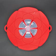 Multifunctional Silicone Lid Spill Stopper Anti Overflow Pot Cover28.5cm Diameter Kitchen Gadgets Cooking Pot Lids Utensil