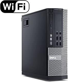Dell Optiplex 9020 Small Form Business Desktop Tower PC (Intel Quad Core i7 4770, 16GB Ram, 240GB Brand New SSD, WIFI, Dua...