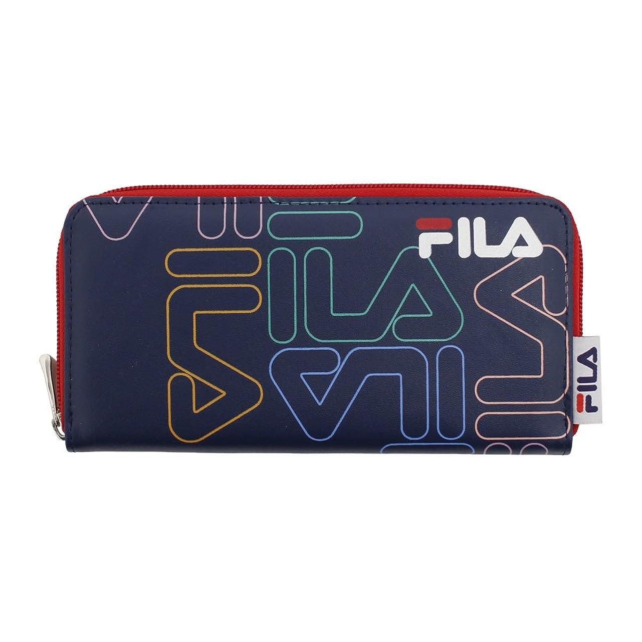 ブローホール献身間に合わせフィラ(フィラ) グラフィック 財布 FLGR001RFT-NVY