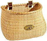 Replicas of the Lightship baskets first produced in Nantucket during the whaling era of the 1800s Our Lightship baskets are made from finely woven rattan cane: the outer skin of the natural rattan vine Attaches to handlebars with 2 adjustable leather...