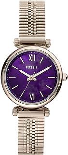 Fossil Analog Purple Dial Women's Watch-ES4694