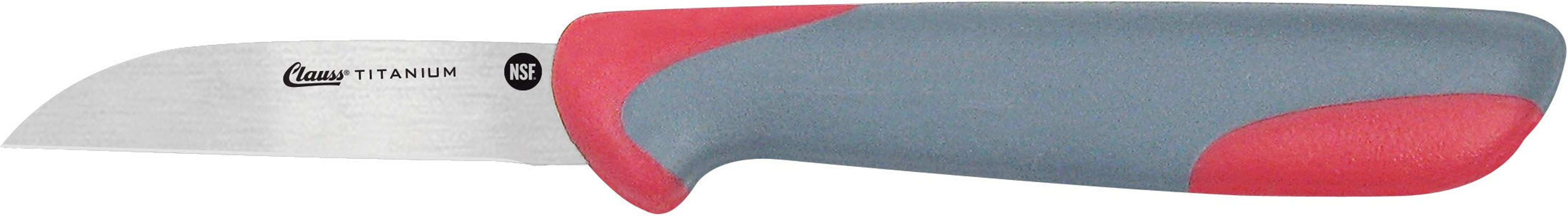 Clauss Titanium Bonded Straight Paring Knife 2 5 18428