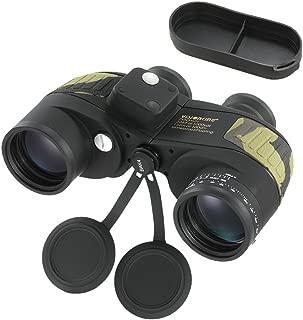 Lixada 双眼鏡 ミニ望遠鏡 7倍 高倍率 7x50 測距 コンパス機能 軽量 防水 広い視野 コンサート スポーツ観戦 登山 旅行 アウトドアなどに適用