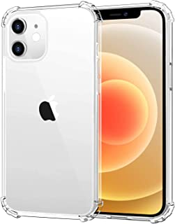 HOLDAX iPhone 12/Iphone 12 Pro/Iphone 12 Pro Max/IPhone 12 Mini Case [Anti-Yellowing] Soft Silicone Shockproof Thin Cover ...