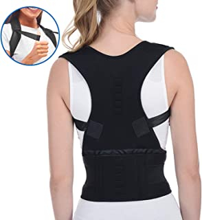 Magnetic Posture Corrector Back Brace Support Brace for Improved Posture and Provides Lumbar Support, Relief Lower and Upper Back Pain
