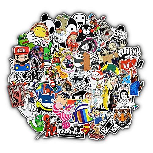 Classic Film Pulp Novel Decal Sticker Toy Luggage Sticker Notebook Sticker 50 Pieces