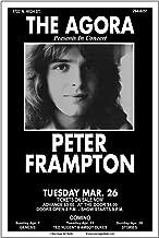 Raw Sugar Art Studio Peter Frampton 1974 Columbus Concert Poster